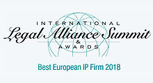 Leaders League 2018 Best European IP Firm